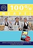 100% Cityguide Neapel: Reiseführer inkl kostenloser. App + Extra Stadtplan - Iris de Brouwer