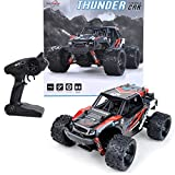 Maximum RC | 2,4 GHz Monster Truck | Ferngesteuertes Auto | 36 km/h schnell | Lipo Power | RC Auto Farbe rot