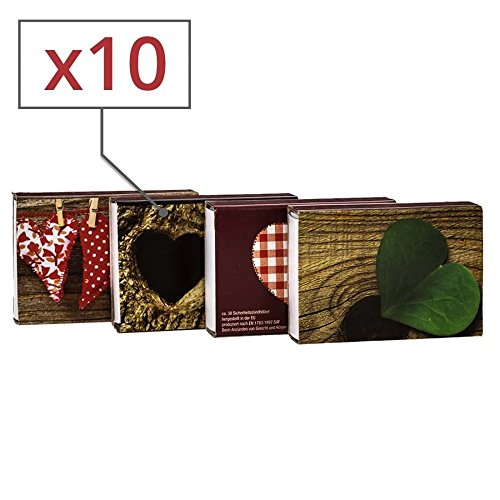 Allumettes Motif Vintage x 10 boites