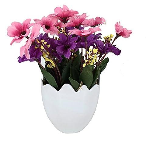 Garwarm Mini Lebensechtes Natürliches Modernes Design als Dekorative Künstliche Topfblume