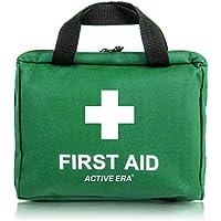 The Body Source Botiquín de Primeros Auxilios de 90 piezas con hielo, kit de lavado de ojos y manta de emergencia para el hogar, el automóvil, el campamento y la oficina