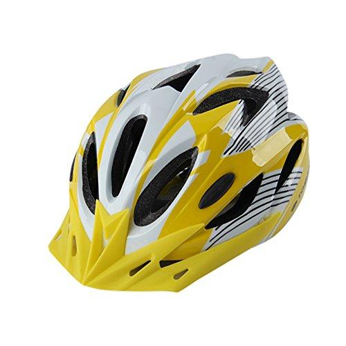 Qarape Outdoor Sports Fahrradhelm mit Visier Schild Atmungsaktiv Komfort Leichtgewicht Fahrradhelm Einstellbare Sicherheit Schutz Fahrradhelme Multi-Use Highway & Mountain Road Reithelm (Sport Schaum Visier)