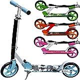 Scooter Girl Power Roller Tretroller Kinderroller Cityroller Kinder 205mm klappbar