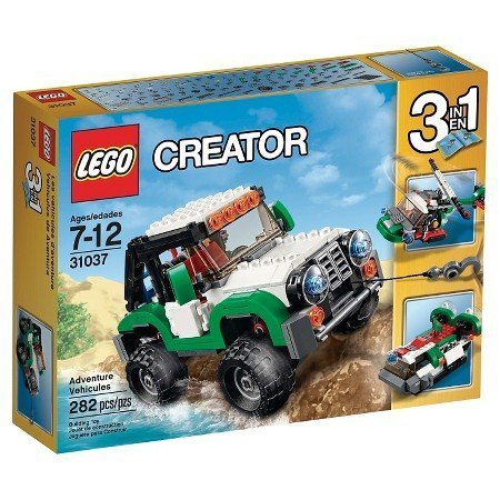 LEGO Creator Adventure Vehicles For Operate The Winch 31037 by Illuminations