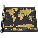 Carte du monde a gratter cuisine maison - Cheque cadeau maison du monde ...