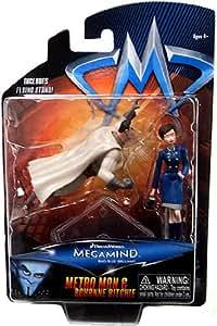 Megamind Mini Action Figure - Metroman and Roxanne Ritchie