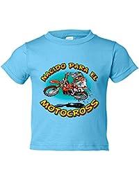 Camiseta niño nacido para el Motocross