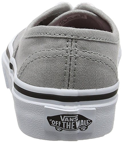 Vans  Uy Authentic, Sneakers Basses fille Gris (Eyelet Hearts/grey)