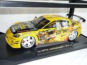 Mazda Rx8 Rx-8 Gelb Tuning 2008 Drift Darkdog 1/18 Norev Modellauto Modell Auto