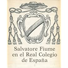 Salvatore Fiume en el Real Colegio de Espana.