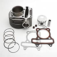 yunshuo 125 cc barril cilindro pistón Kit para GY6 152QMI chino Scooter Junta 125