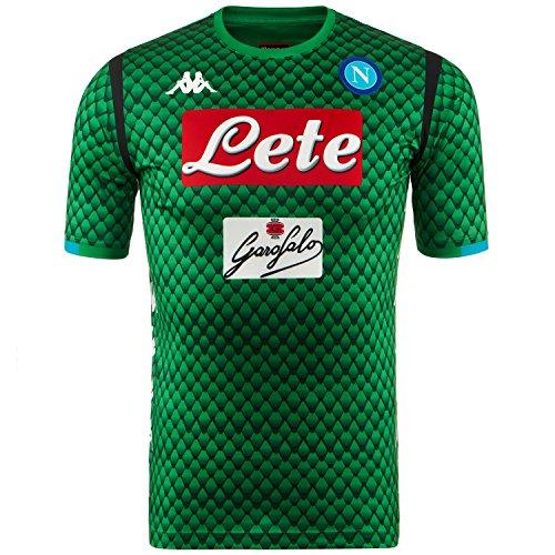 SSC Napoli Camiseta portero local réplica verde fantasía