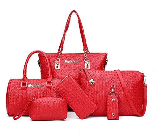 Conjunto 6 piezas bolsos piel sintética - Mujer -