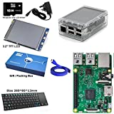 SB Components Hersteller Bereich Kompletter Raspberry Pi 3 Modell B Quad Core 3.2