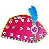 Tambola Factory Anarkali Qawwali Cap Housie Ticket Game (16 cm x 0.5 cm x 12.5 cm, Pack of 15)