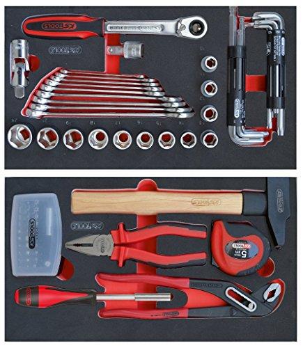 KS Tools 800.0077Composición de 77herramientas para carro Mobile 850.0340ssp