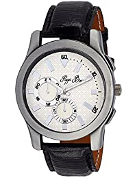 Pappi Boss Sober Dumy Chronograph Dial Leather Strap Wrist Watch For Men, Boys