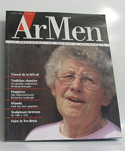 ArMen n°97 l'envol de la brit air, tradition chantée, fougères, irlande, sculpteurs bretons. par collectif
