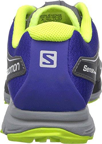 Salomon  Sense Mantra 2 W Spectrum, Damen Laufschuhe Gris / Azul / Amarillo