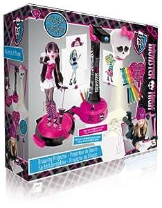 Monster High - 870307 - Loisir Créatif - Projecteur à Dessins Monster High