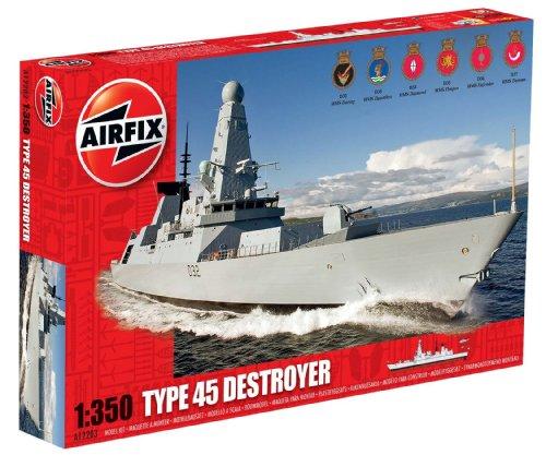 Airfix - Type 45 Destroyer, Maßstab 1:350