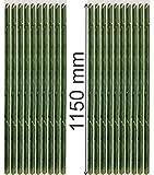 EXCOLO 20 x Stamm-Schutz Spirale 115 cm lang gegen Fraßschäden am Stamm. Baumschutz und Rindenschutz für junge Bäume