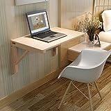 KF Wand-Klapptisch Klapptisch Tisch Raumwunder Faltart umwandelbarer Schreibtisch faltbar 50 * 30cm, 60 * 40cm (größe : 60 * 45cm)