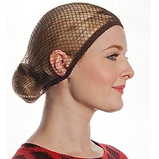 Aerborn Hairnets What Knot Medium to Long Hair Net, Medium Brown