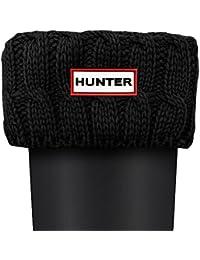 Hunter Cable De Puntada 6 Calcetines Blanco Natural