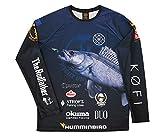 #LMAB Teamshirt // Das Tournament Long Sleeves Crew // Function-Wear mit Sonnenschutz als Langarmshirt // Design Zander Größe L