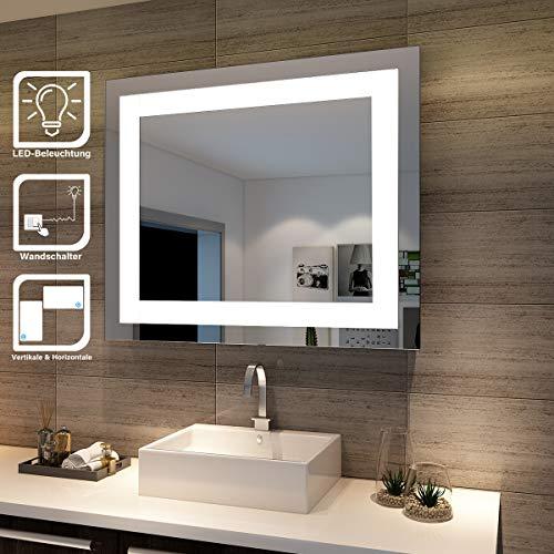 SONNI Badspiegel Lichtspiegel Ku...