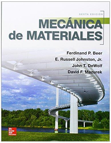 MECANICA DE MATERIALES por Ferdinand Beer