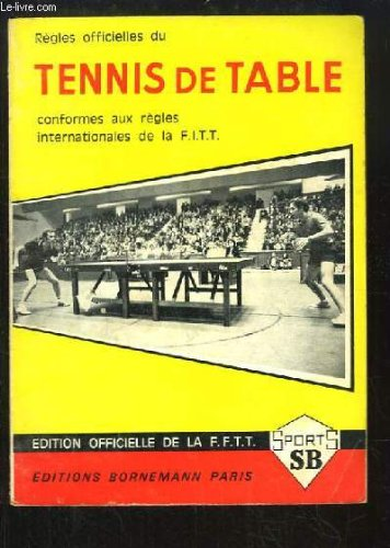 Rgles Officielles du Tennis de Table