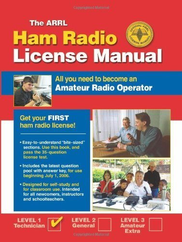 ARRL Ham Radio License Manual: All You Need to Become an Amateur Radio Operator by H. Ward Silver, American Radio Relay League (2006) Paperback