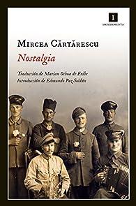 Nostalgia par Mircea Cartarescu