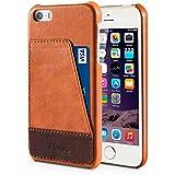 Benuo Coque iPhone SE/ iPhone 5s/ iPhone 5 en Cuir Prime avec Pochette Étui iPhone 5s Cuir ...