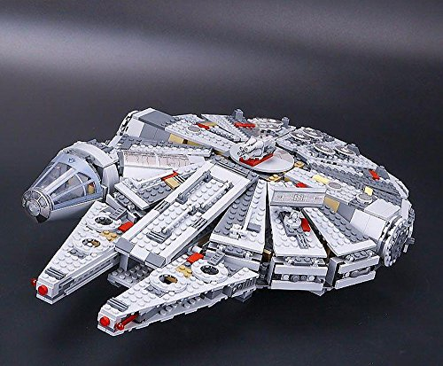 05007Custom Ladrillos Millennium nave espacial, construcción Juego de construcción de juguete, 1374Ladrillos