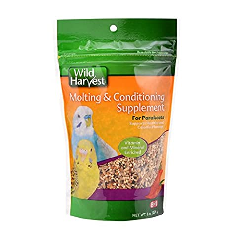 8 In 1 Pet Products BEOA502 Ultrablend Moulting Food For Parakeets