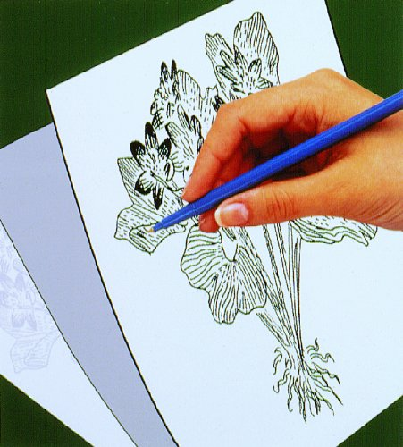Melissa & Doug Scratch Art Trace-It White Transfer Paper