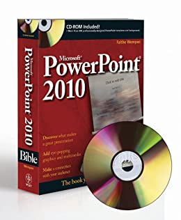 PowerPoint 2010 Bible by [Wempen, Faithe]