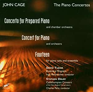 Cage-Edition Vol. 16 (The Piano Concertos)
