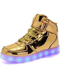 Sneakers dorate per bambini
