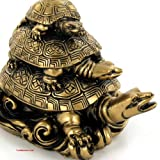 Statuette Tortue - Symbole Feng Shui - Protection Longévité Prospérité