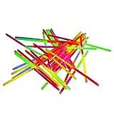 100 Knicklichter zweifarbig mit Verbinder Top Premium Qualität Fabrikfrische Qualitiätsware leuchtstark und langlebig Leuchtarmband Arm Knicklicht Leuchtstab Glowstick