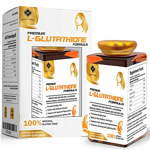 MOUNTAINOR L-Glutathione For Healthy Skin 1000 mg-60 Capsules