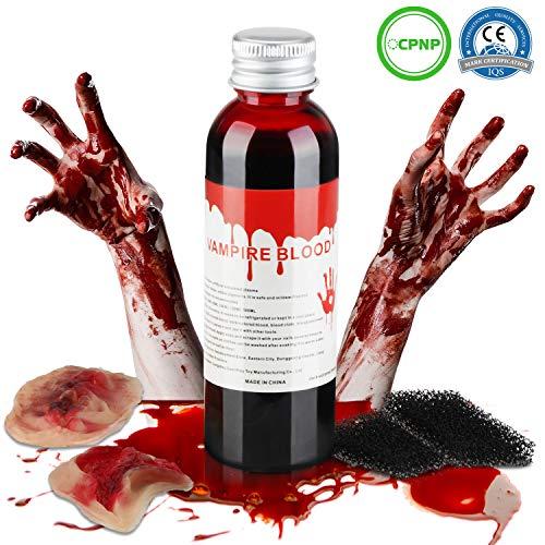 Kunstblut dunkel flüssig auswaschbar fake blut filmblut