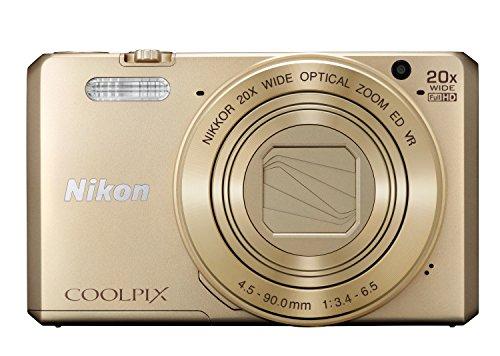 Nikon Coolpix S7000 Digitalkamera (16 Megapixel, 20-fach opt. Zoom, 7,6 cm (3 Zoll) LCD-Display, USB 2.0, bildstabilisiert) gold - 2