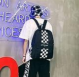 SEBAS Home Persönlichkeit Rucksäcke Einfache High School Student Paar Schule Outdoor Aktivitäten Rucksack