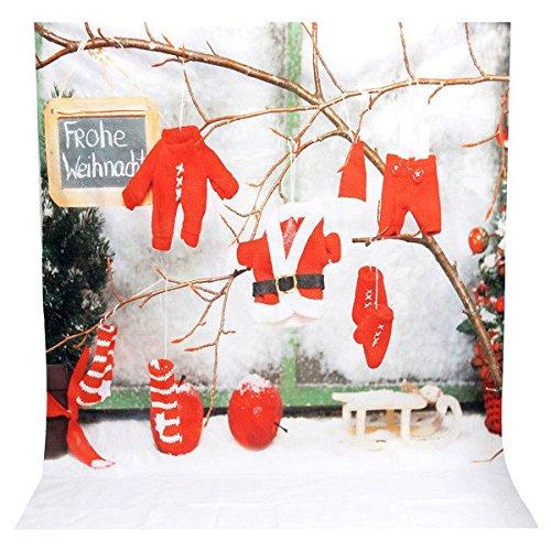 Doradus 1.5 x 2m Vinyl Studio Hintergrund Weihnachten Fotografie Prop Foto Hintergrund