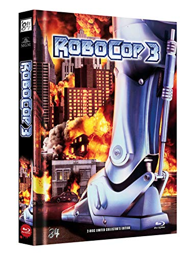 RoboCop 3 - 2-Disc Limited Collector\'s Edition - Uncut - Mediabook, Cover B (+ DVD) [Blu-ray]